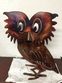 Steely Owl Garden Art - DXF File Only