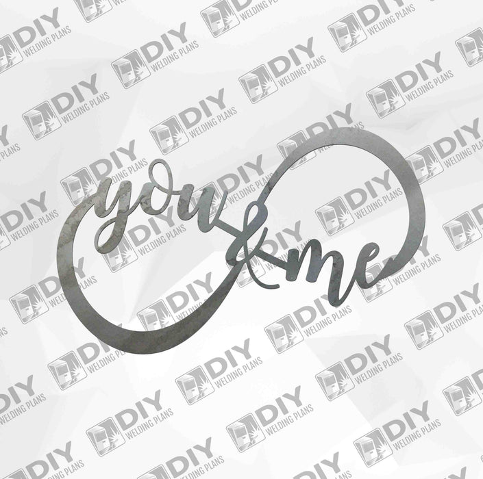 You and Me Forever - DXF File Only