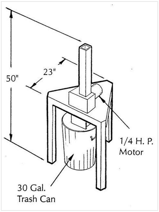 Soda Can Crusher Welding Plans