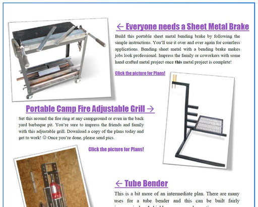 10 Free Welding Projects - Welding Plans - Digital Download