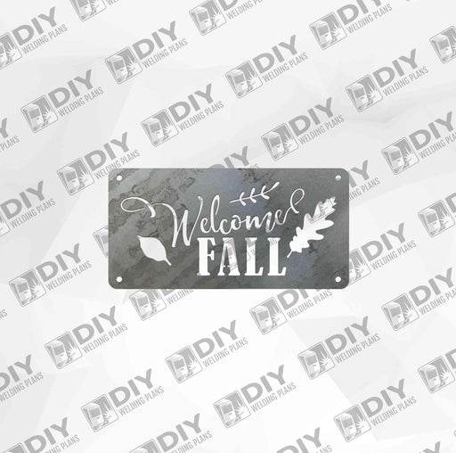 Welcome Fall - DXF File Only