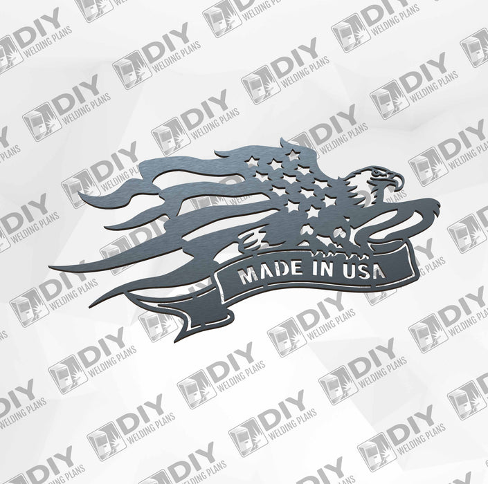 Made in Usa - DXF File Only