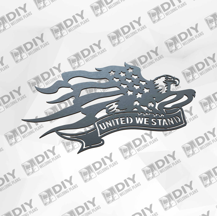 United We Stand - DXF File Only