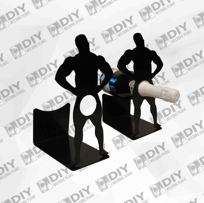 Wine Men - DXF Plasma File