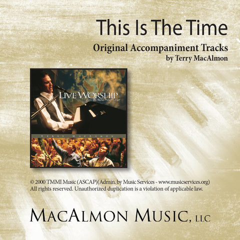 This Is The Time (Accompaniment Tracks Download)