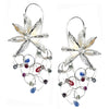 Star Anise Sapphire Earrings