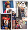 Frida in Kolkata Greeting Card Set