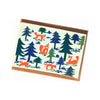 Blockprinted Notecard Set - Nature Design