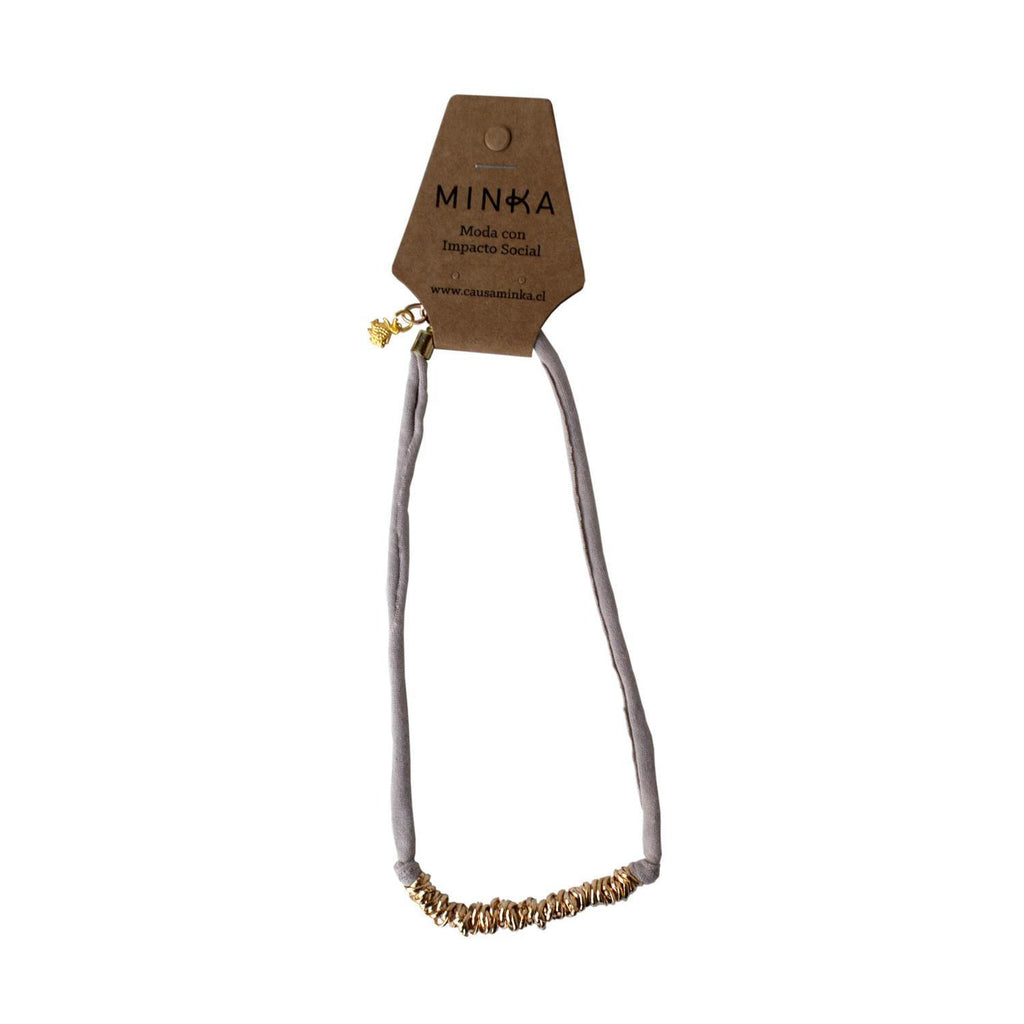 Collar Gloria Beige