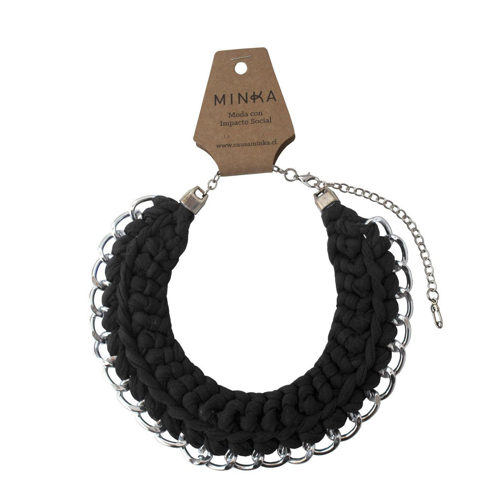 Collar Julieta Negro