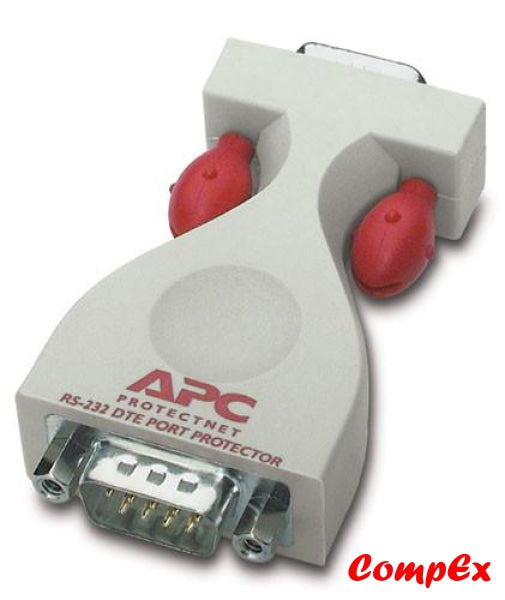 Apc Protectnet Standalone Surge Protector For Serial Rs232 Lines (9 Pin Female To Male) Ps9-Dte