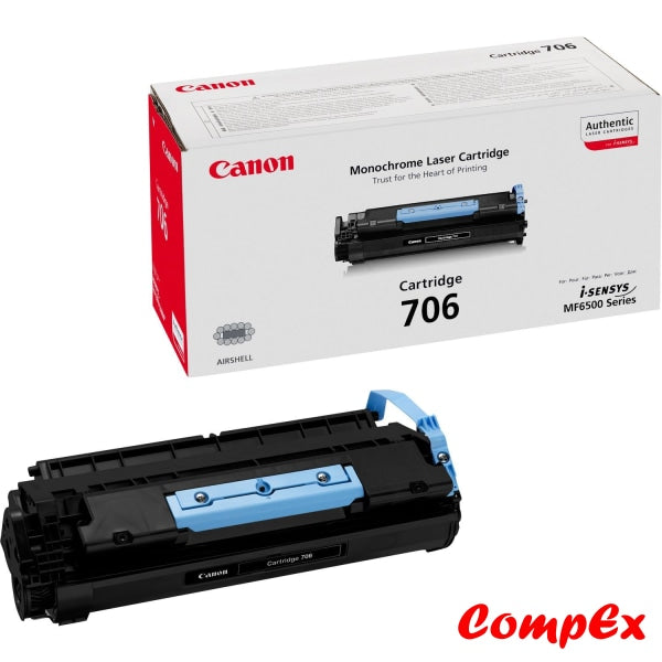 Canon 706 Black Toner Cartridge (#0264B002)