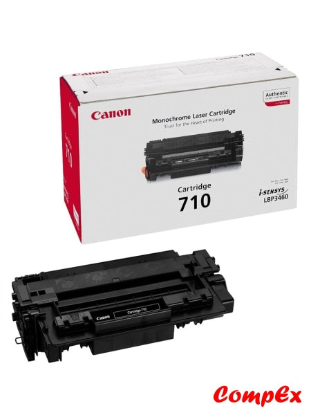Canon 710 Black Toner Cartridge (#985B001)