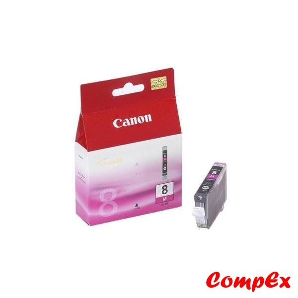 Canon Ink Cartridge Cli-8 B/c/m/y (13Ml) Magenta