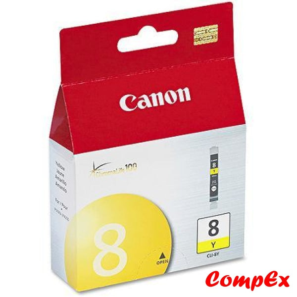 Canon Ink Cartridge Cli-8 B/c/m/y (13Ml) Yellow