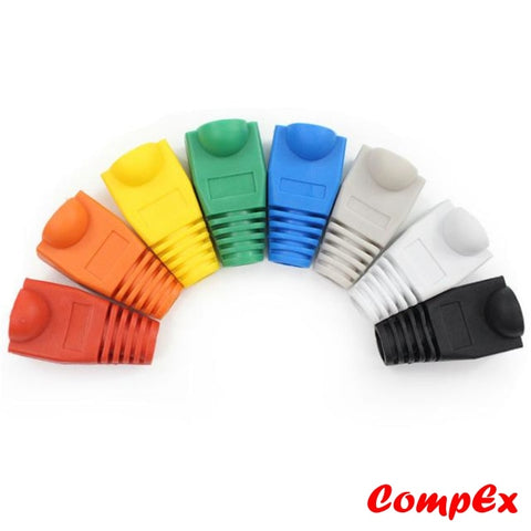 Cat5/6 Rj45 Plastic Boots Cover Connector