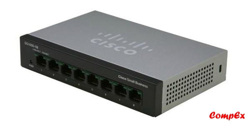 Cisco Sf110D-08 8-Port Desktop 10/100 Switch