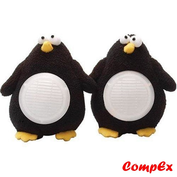 Computer Expressions Portable Penguin Stereo Speakers