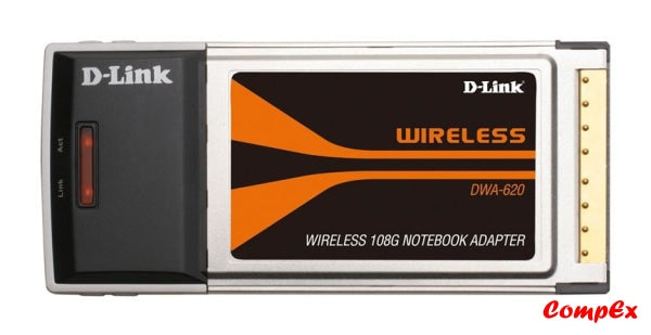 Dlink Pcmcia Wireless Adapter Dwa-620 Network Card