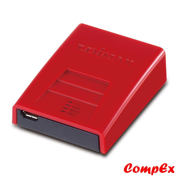 Edimax 150Mbps Wireless Broadband Nano Router Br-6258N Red