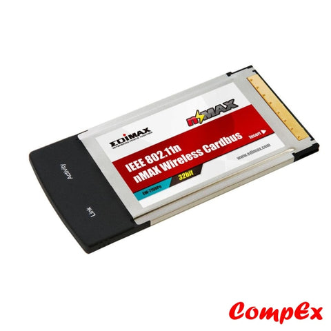 Edimax Wireless 32-Bit Cardbus Ew-7708Pn Network Card
