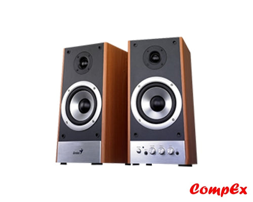 Genius 60-Watt Two-Way Hifi Wood Speakers Sp-Hf2000X