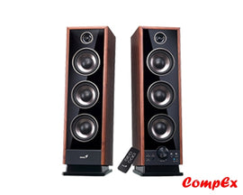 Genius Digital 4-Way Hi-Fi Speakers Sp-Hf2020 Brown