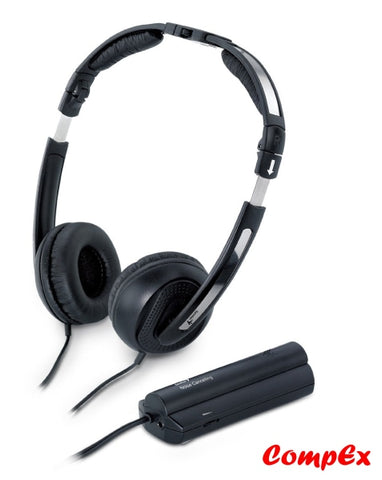 Genius Foldable Noise-Canceling Headphone Hp-02Nc Headset