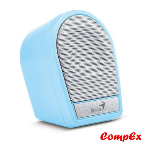 Genius Mini Portable/rechargeable Speaker Sp-I177 Blue Speakers