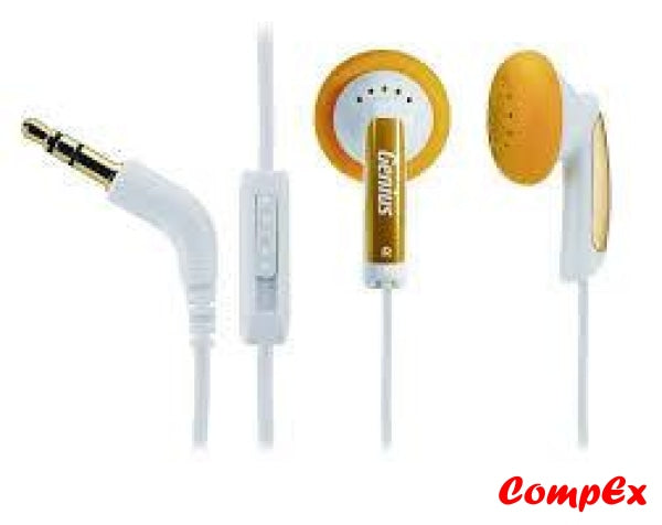 Genius Vivid Earphones Ghp-02V Mango Headphone