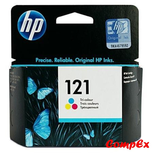 Hp 121 Tri-Color Original Ink Cartridge (Cc643He)