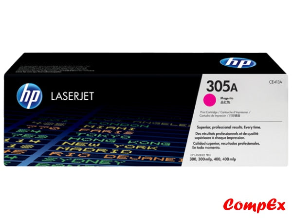 Hp 305A Magenta Original Laserjet Toner Cartridge (Ce413A)