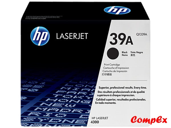 Hp 39A Black Original Laserjet Toner Cartridge (Q1339A)