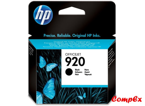 Hp 920 Black Original Ink Cartridge (Cd971Ae)