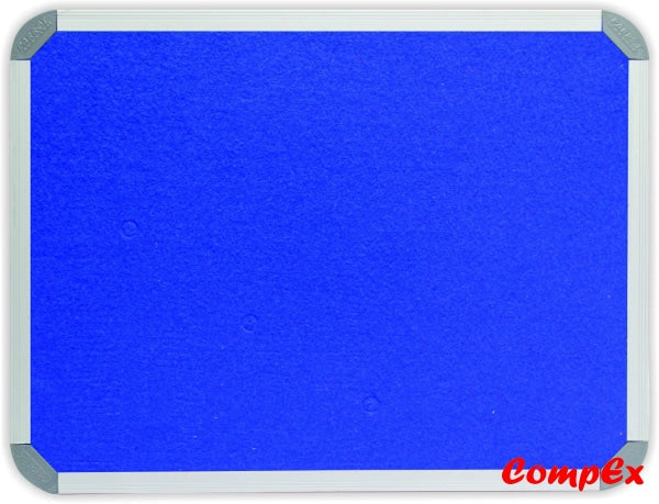 Info Board (Aluminium Frame - 1200*900Mm Royal Blue) Boards Felt)