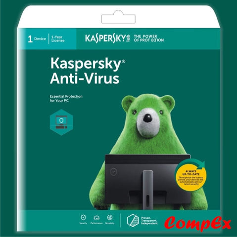 Kaspersky Anti-Virus - 1 Device Year (Cd) Software