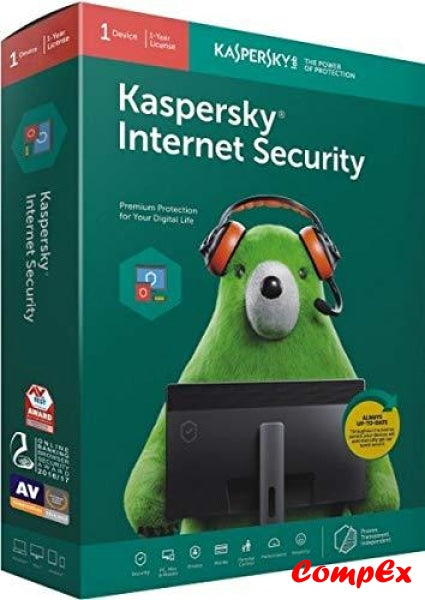 Kaspersky Internet Security - 1 Pc Year (Cd) Software