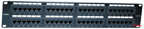 Kuwes Cat6 Patch Pannel 48 Port Panel