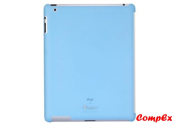 Lafeada Active Shell Ultra Slim Case For Ipad 2 Compatible With Smart Cover Blue Tablet Carry