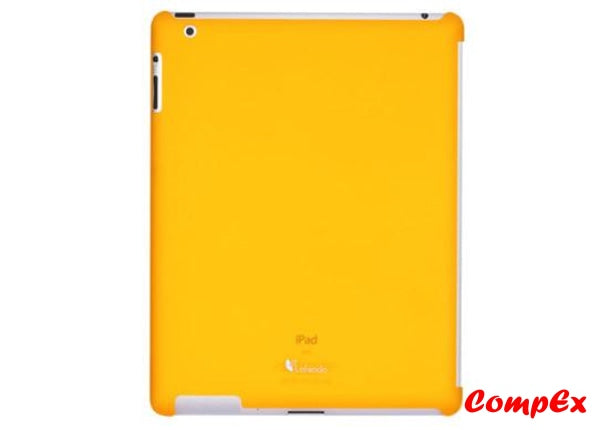Lafeada Active Shell Ultra Slim Case For Ipad 2 Compatible With Smart Cover Orange Tablet Carry