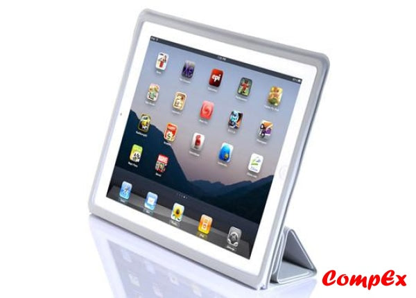 Lafeada Skin Cover - Ultra Slim Case With Smart Function For Ipad 2 Grey Tablet Carry