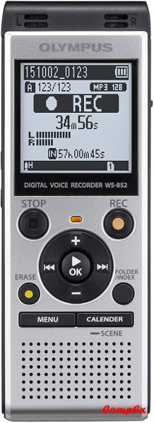 Olympus Voice Recorder Ws-852 Silver