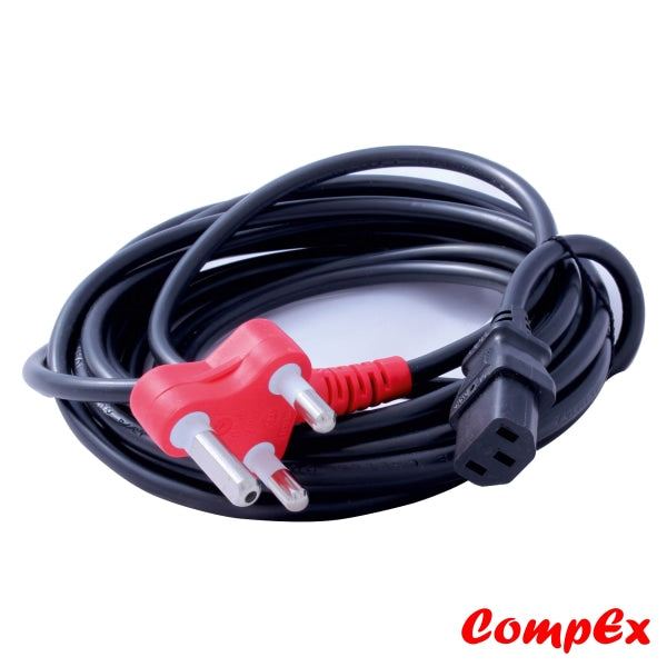 Power Cable Iec To 3 Pin (5M) Adaptors