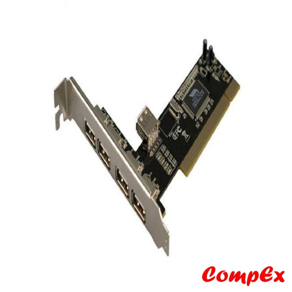 S-Tek Pci 4Port Usb2.0 Card Usb Adaptor