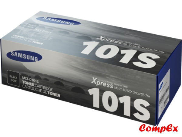 Samsung Mlt-D101S Black Toner Cartridge (Su700A)