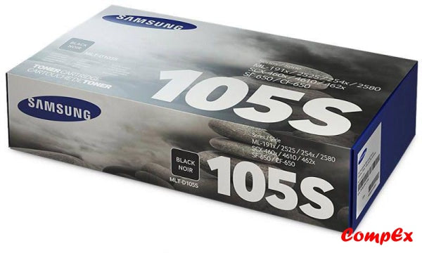 Samsung Mlt-D105S Black Toner Cartridge (Su776A)