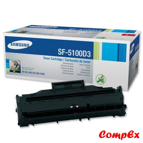Samsung Sf-5100D3 Black Toner Cartridge