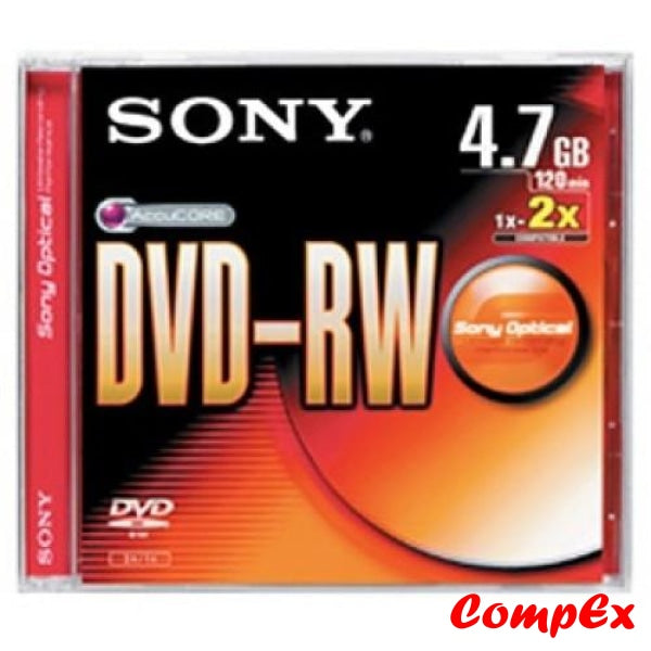 Sony Dvd-Rw 2X 4.7Gb Rewriteable (Single)