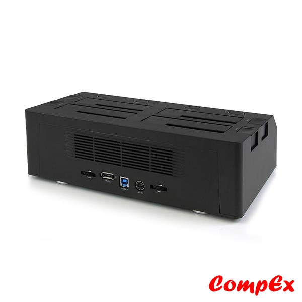 Startech 4 Bay Esata Usb 3.0 To Sata Hard Drive Docking Station For 2.5/3.5 Hdd (Satdock4U3E) Dock