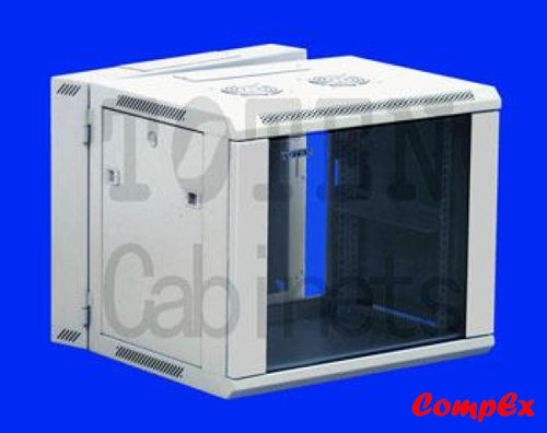 Toten Double Section Wall Mount Cabinet 6U (Zh)